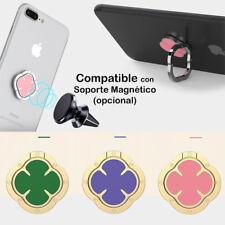 Soporte del Anillo Giratorio Adhesivo/Magnético 360º Tablet Móviles Universal