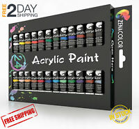 Acrylic Paint Set, 48 Acrylic Paints, Art Set for Adults and Kids-Craft Supplies