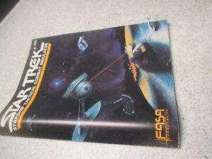 1986 FASA RPG Star Trek 2003A Booklet Starship Tactical Combat Simulator