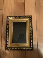 Lawrence Gold Wooden Frame Under Glass 9x7 and 3.5x5.5 Inches