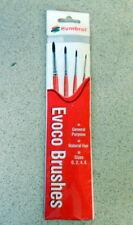 Humbrol Paint Brush Pack(4) EVOCO BRUSHES