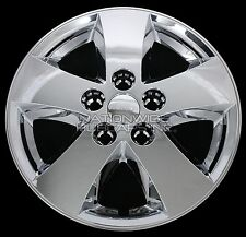 "4 New 09-16 Journey Caravan 17"" Chrome Wheel Skins Hub Caps Full Alum Rim Covers"