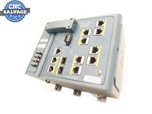 Cisco IE 3000 W/ Power Module 341-0304-01 IE3000-8TC
