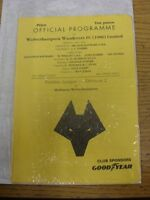 18/12/1991 Wolverhampton Wanderers Reserves v Hull City Reserves  (4 Pages). Foo