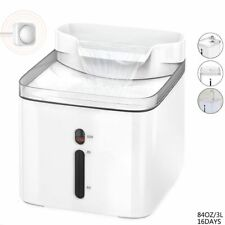 Automatic Pet Cat Drinking Water Fountain Dispenser Drinker Source Bowl Feeder