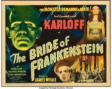 16mm BRIDE OF FRANKENSTEIN (1935).  B/W Universal horror feature film.