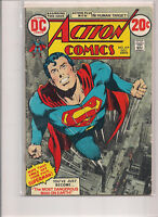 Action Comics #419 First Printing 1972 Comic Book Neal Adams