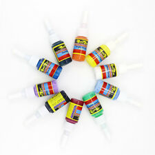 2018 New Getbetterlife 10 Colors Tattoo Inks Pigment 5ML Supply Kit