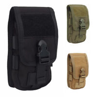 Universal Tactical Bag Phone Belt Hook Cover Case Pouch Mobile Phone Carrier Bag