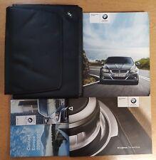 GENUINE BMW 3 SERIES E60 E61 HANDBOOK OWNERS 2008-2012 WALLET PACK E-558