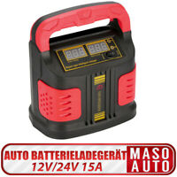 12V/24V 15A Jump Starter Batteria Smart Auto Caricabatterie Motociclo Camion