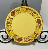"Taylor Smith & Taylor Co Design 70 Indian Summer Dessert Plate USA 6 7/8"" Dia"