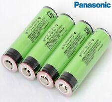 4 x protette Panasonic NCR18650B 3400mAh Li-ion 3.7v BATTERIA RICARICABILE PCB