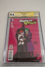 HARLEY QUINN #17 JOKER 75TH ANNIVERSARY VARIANT COVER CGC 9.4 Signed by Risso