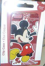 NEW Disney MICKEY MOUSE iPhone 5 5S Clip Case Phone Slim Design
