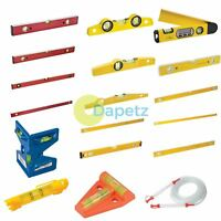 Spirit Level Builders DIY Tools Milled Top Long  Set 10 16 18 24 36 40 48 71""