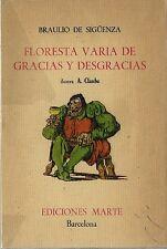 EO N° BRAULIO DE SIGÜENZA + A. CLAUBE FLORESTA VARIA DE GRACIAS Y DESGRACIAS