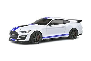 Solido S1805904 Ford Mustang Shelby GT500 Fast Track 2020 1:18 Oxford Blanc Figu