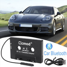 More details for bluetooth car audio tape cassette adapter receiver for iphone ipod cd mp3 radio