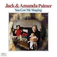 JACK/PALMER,AMANDA PALMER - YOU GOT ME SINGING   CD NEW+