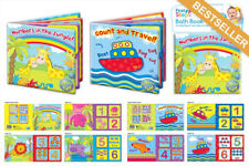First Steps Floating Bath Books. Educational & Fun Bath Toy for Baby