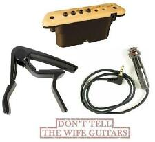 LR Baggs M1 Active Acoustic Guitar Soundhole Pickup M1A ( FREE DUNLOP CAPO) M1 A