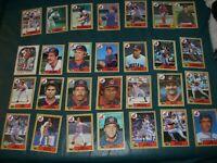 Cleveland Indians Team Set 1987 Topps Snyder Franco Swindell Hall Carter Jacoby