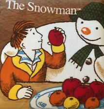 The Snowman by Raymond Briggs Plush Fleece Blanket Christmas Xmas Gift Kids B