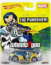 HAULIN GAS The Punisher - MARVEL - 2016 Hot Wheels Pop Culture C Case