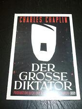 THE GREAT DICTATOR, film card [Charlie Chaplin, Paulette Goddard]
