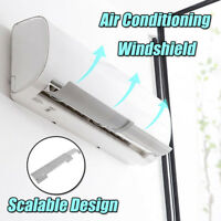 Air Conditioner Windshield Cold Wind Deflector Retractable Baffle for Home Hotel