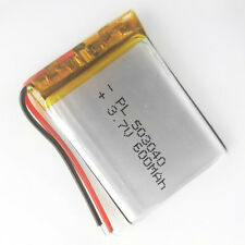 3.7V 600mAh LiPo Polymer Rechargeable Battery 503040 For Mp3 GPS Bluetooth Video