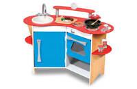 13950 Melissa and Doug Cooks Corner Wooden Kitchen Childrens Kids Toys Toy New
