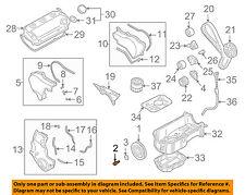 MITSUBISHI OEM 00-12 Eclipse Engine Parts-Crankshaft Crank Pulley Bolt 1100A142