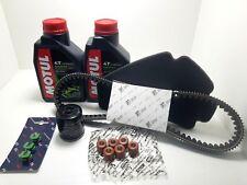 kit tagliando per piaggio beverly 300 con cinghia RULLI originale 2009 2010 2011