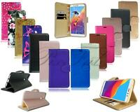 For Huawei Honor 7A 8A New Genuine Leather Wallet Phone Case + Tempered Glass