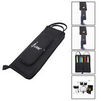 Stock Pocket Stick Bag Bag for Drumsticks Stick Bag Drumstick Bag,Black