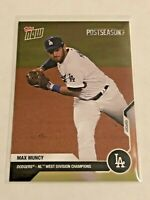 2020 Topps Now Baseball Postseason Card - Max Muncy - Los Angeles Dodgers