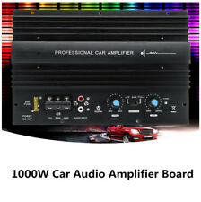 12V 1000W Powerful Bass Subwoofer 105dBA Pro Auto Car Audio Amplifier Amp Board