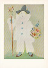 "1955 Vintage ""PAUL as PIERROT"" PABLO PICASSO Color Plate offset Lithograph"