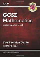 GCSE Maths OCR Revision Guide with online edition - Higher (A*-G Resits)-Richar