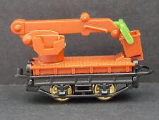 Jouet kinder Kranwagen marron 659746 bodenplatte schwarz Allemagne 1996