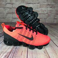 Nike Air Vapormax Flyknit 3 GS Size 5Y Flash Crimson/ Black BQ5238-601