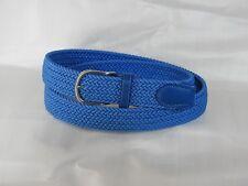 Cintura elastica intrecciata unisex. Vari colori. Elastico italiano alta qualità