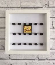 Mini Figures White Display Case Frame Black Lego Brick    The Simpsons Series 2