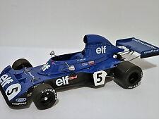 Truescale TSM131810 - Tyrrell Ford 006 Jackie Stewart #5 Belgian GP WInner 1973