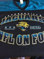 Jacksonville Jaguars Nfl On Fox Rare 1996 Jersey Large Made In USA Fl Football🏉