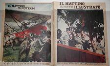 1930 Negus Tafari Nidi d aquila Aviatrice tra le bufale del Garigliano Musolini