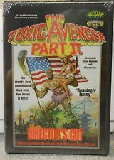 Toxic Avenger The Part 2 (DVD 1998) RARE 1989 TROMA HORROR ACTION  BRAND NEW