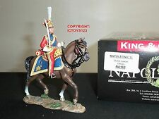 KING AND COUNTRY NA163 DUTCH LANCER OFFICER MOUNTED METAL TOY SOLDIER FIGURE